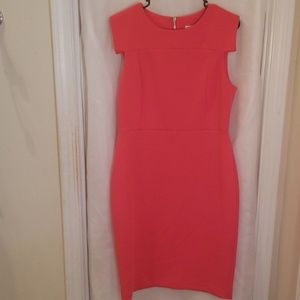 Hot Pink Calvin Klein Dress